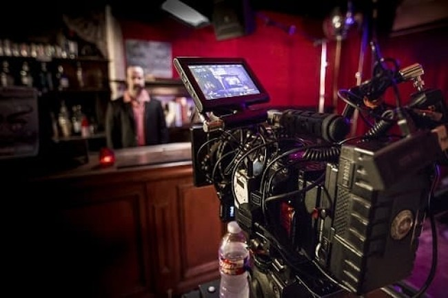 video commercial red camera